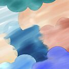 Abstract Watercolor by Charlotte Lake