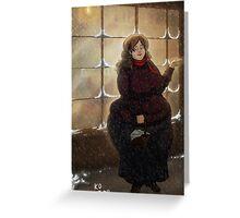Engorgio - Three Broomsticks Greeting Card