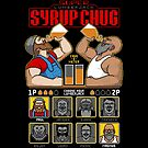 8 Bit Super Lumberjack Syrup Chug by Tom Burns