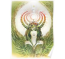 """THE CAPRICORN"" - Protective Angel for Zodiac Sign Poster"