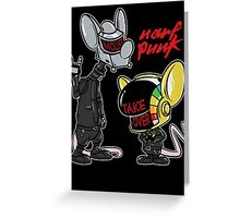 Narf Punk Greeting Card