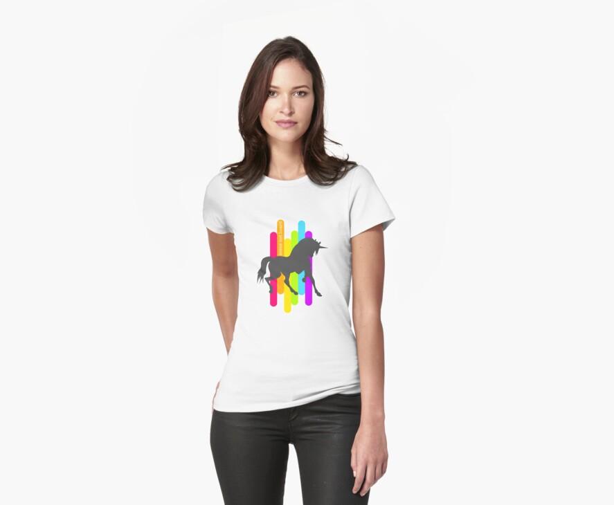 rainbow unicorn by dsfghabi