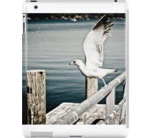 Seagull flying iPad Case/Skin