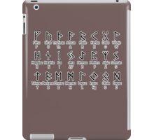 Elder FUTHARK Alphabet iPad Case/Skin