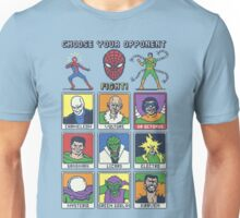 8 Bit Spider Fighter Unisex T-Shirt