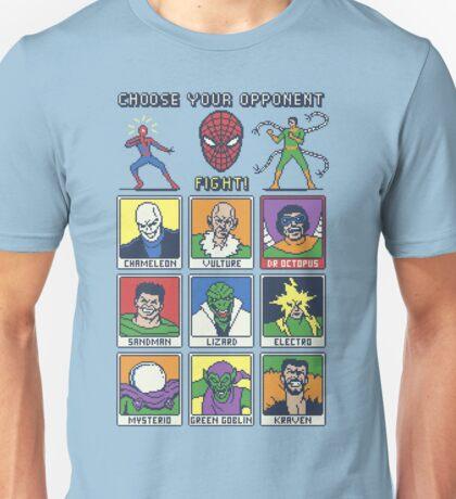 8 Bit Spider Fighter T-Shirt