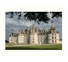 chateau of chambord Art Print