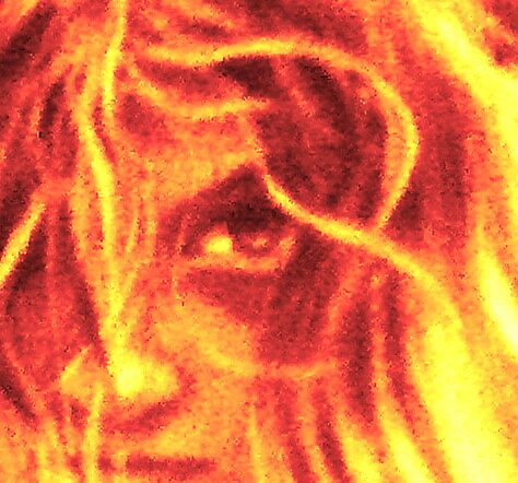 Fire And Eyes by Lisa Phillips