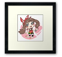 May - Pokemon ORAS Framed Print