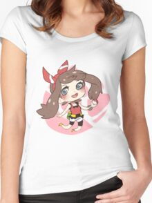 May - Pokemon ORAS Women's Fitted Scoop T-Shirt