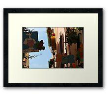 Backstreet Framed Print