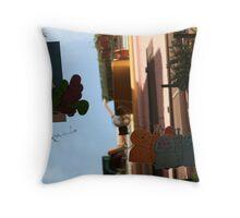 Backstreet Throw Pillow