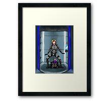 Shephard and Tali Elevator Framed Print