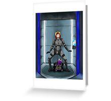Shephard and Tali Elevator Greeting Card