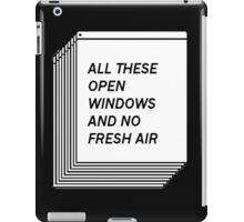 No Fresh Air iPad Case/Skin