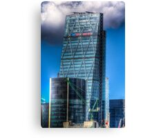 The Cheese Grater London Canvas Print