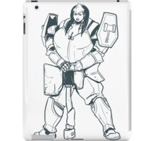 Ample Adventurer - Half-Orc Paladin iPad Case/Skin