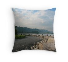 The Bluffs in Toronto Throw Pillow