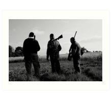 Gone Shooting Art Print