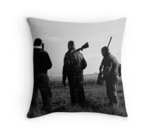 Gone Shooting Throw Pillow