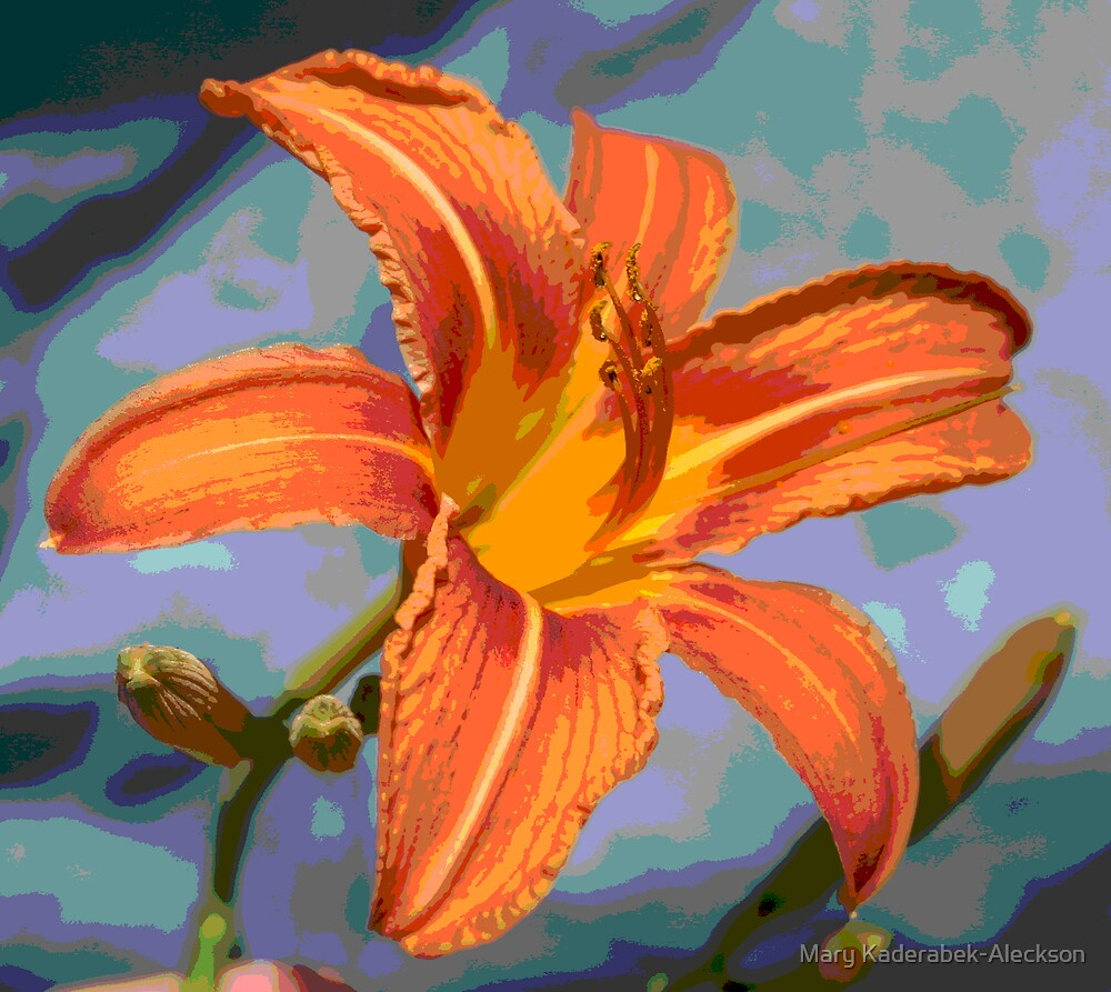 Blue Jean Lily by Mary Kaderabek-Aleckson