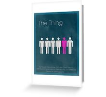 The Thing Minima Greeting Card