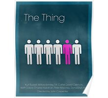 The Thing Minima Poster