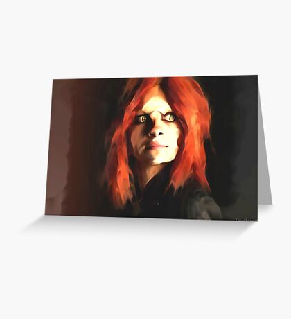 Irisa Season 1 Defiance Greeting Card