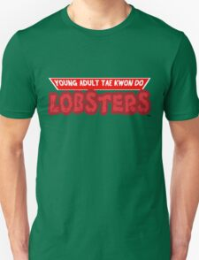 Young Adult Tae Kwon Do Lobsters T-Shirt