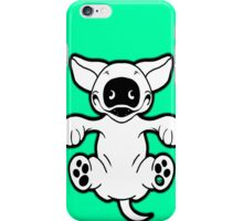 English Bull Terrier Roll Play iPhone Case/Skin