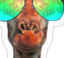 Bling Giraffe Sticker