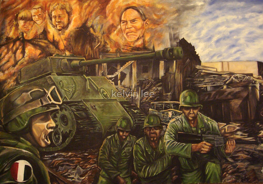 War by kelvin lee