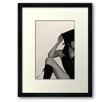 Eighty-nine Framed Print
