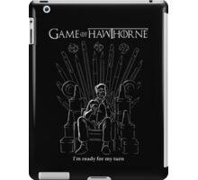 Game of Hawthorne iPad Case/Skin
