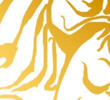 The Golden Dragon Sticker