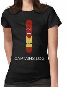 Captains Log Womens Fitted T-Shirt