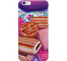 Pink Tea with Roses iPhone Case/Skin