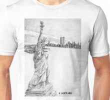 """The Statue of Liberty""  Unisex T-Shirt"