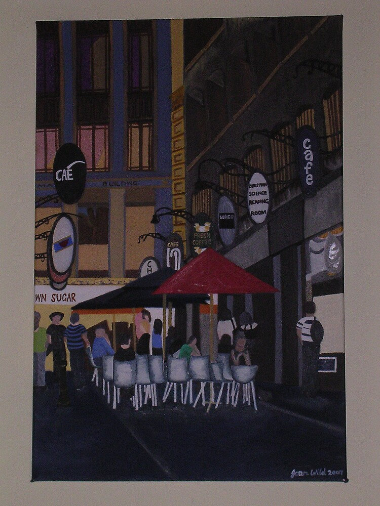 Degraves Street by Joan Wild