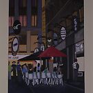 Degraves Street by Joan Wild