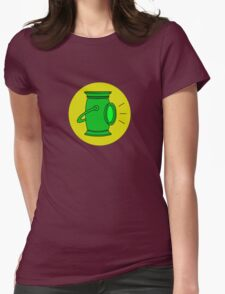 Alan Scott - The Golden Age Green Lantern Womens Fitted T-Shirt