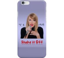 Shake (Full Colour) iPhone Case/Skin