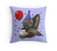 Grunt Birthday Party! Throw Pillow