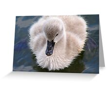 I Be Big Swan One Day Greeting Card