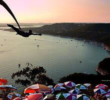Flying over the Bay by Charmiene Maxwell-batten