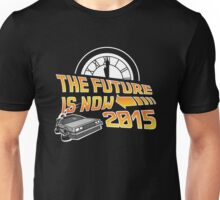 The Future is Now (Back to the Future) Unisex T-Shirt