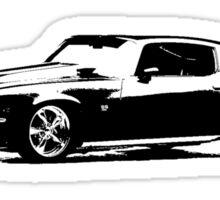 1971 Chevrolet Camaro Coupe Sticker