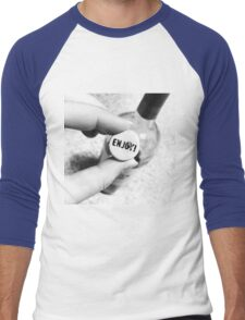 Enjoy the Wine Men's Baseball ¾ T-Shirt