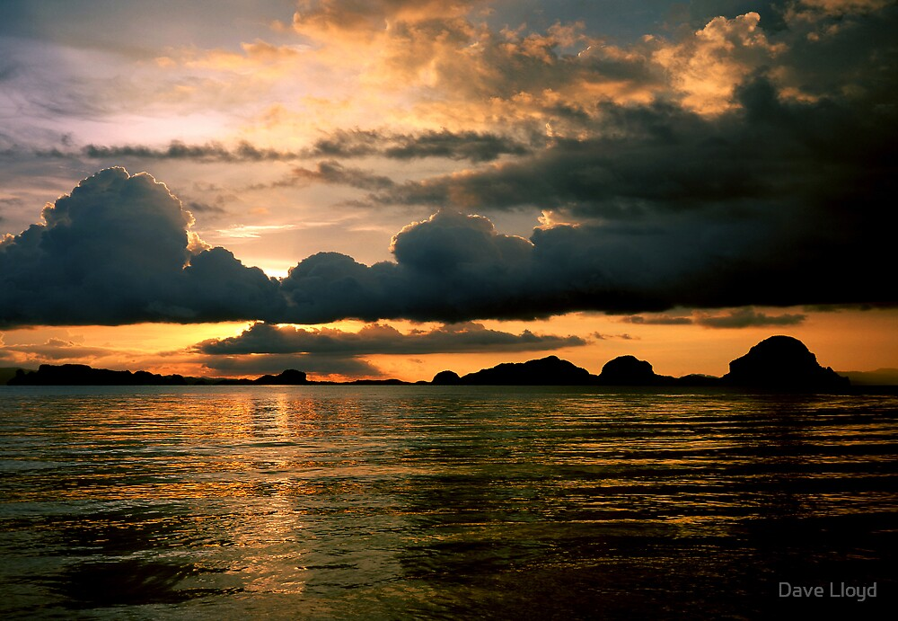 Sunset Sky by Dave Lloyd