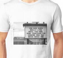 Giving Back Unisex T-Shirt